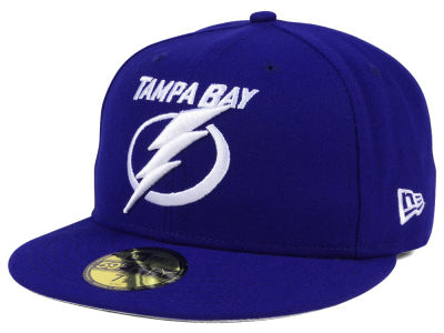 Tampa Bay Lightning NHL Basic 59FIFTY Cap Hats