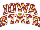Iowa State Cyclones Chevron Decal Auto Accessories