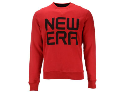 New Era Branded Stack Crew Sweatshirt