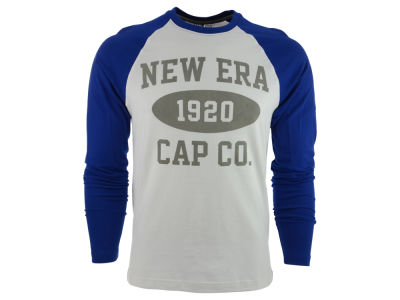 New Era Branded Long Sleeve Graphic Raglan T-Shirt