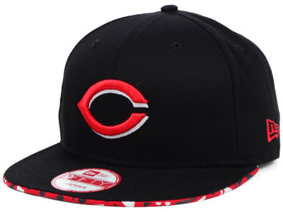 Cincinnati Reds MLB Cross Colors 9FIFTY Snapback Cap Hats