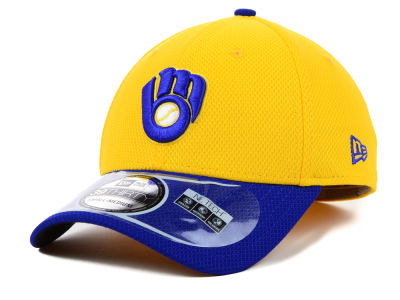 Milwaukee Brewers MLB Diamond Era 2 Tone 39THIRTY Cap Hats