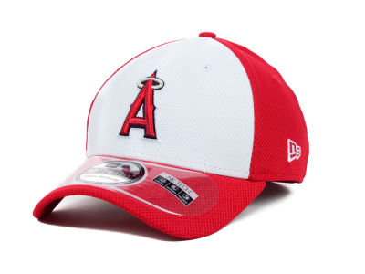 Los Angeles Angels MLB Diamond Era White Front 39THIRTY Cap Hats