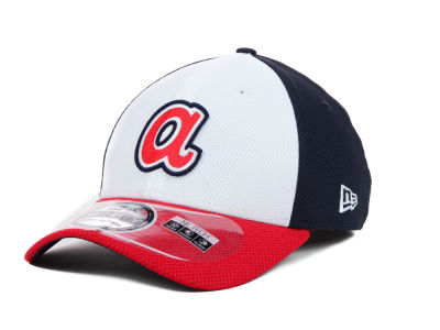 Atlanta Braves MLB Diamond Era White Front 39THIRTY Cap Hats
