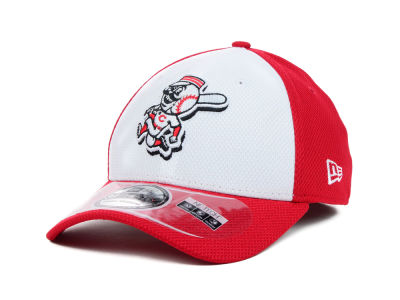 Cincinnati Reds MLB Diamond Era White Front 39THIRTY Cap Hats