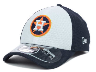Houston Astros MLB Diamond Era White Front 39THIRTY Cap Hats