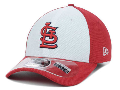 St. Louis Cardinals MLB Diamond Era White Front 39THIRTY Cap Hats