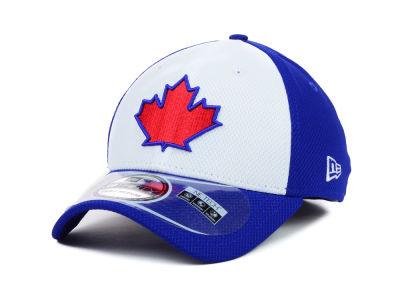 Toronto Blue Jays MLB Diamond Era White Front 39THIRTY Cap Hats