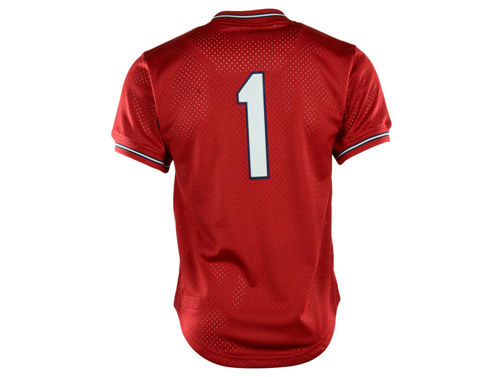 b030f20a3a9 high-quality St. Louis Cardinals Ozzie Smith MLB Men s Authentic Mesh Batting  Practice V ·