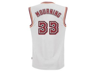 71e7dda9def ... discount code for miami heat alonzo mourning adidas nba mens retired  player swingman jersey lids 8e68f