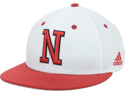 Lids Custom Hats >> Nebraska Cornhuskers adidas NCAA On Field Baseball Cap   lids.com