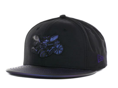 Charlotte Hornets NBA Hardwood Classics Viza Chrome 59FIFTY Cap Hats