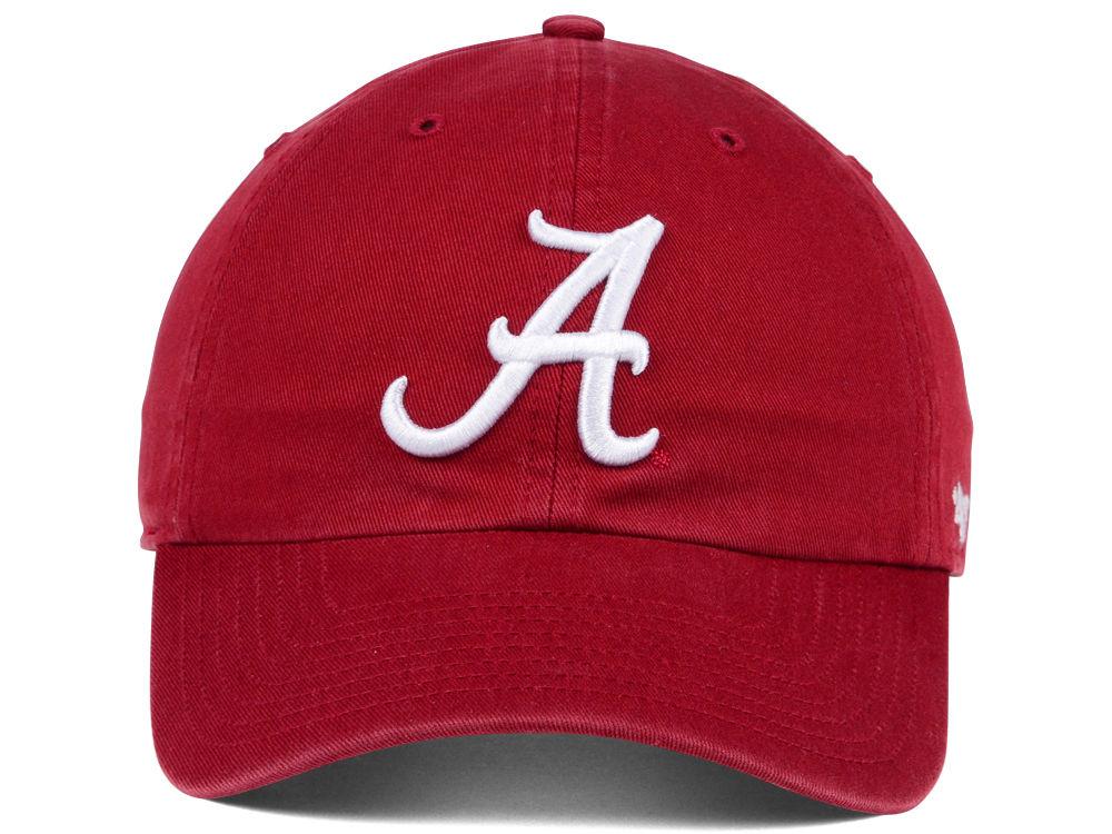 purchase cheap bc8f4 a6213 Alabama Crimson Tide  47 NCAA  47 CLEAN UP Cap ...
