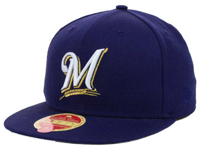 Milwaukee Brewers MLB Wool Classic 59FIFTY Cap Hats