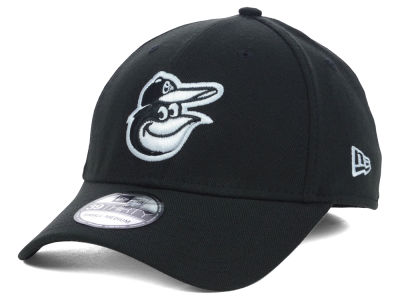 Baltimore Orioles MLB Black White Classic 39THIRTY Cap Hats
