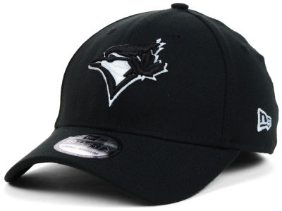 Toronto Blue Jays MLB Black White Classic 39THIRTY Cap Hats