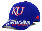 Kansas Jayhawks adidas NCAA 2014 Player Flex Hat Stretch Fitted Hats