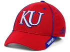 Kansas Jayhawks adidas NCAA 2014 Coaches Flex Hat Stretch Fitted Hats