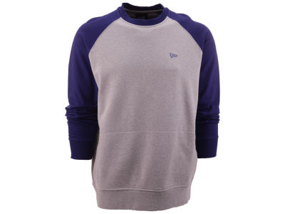 New Era Branded Raglan Crew Sweatshirt