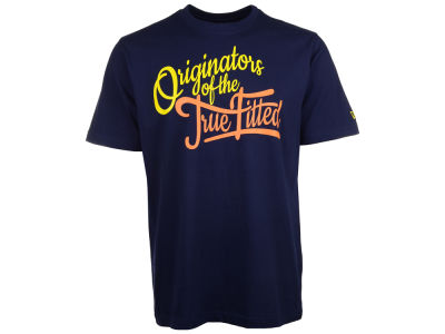 New Era Branded Originators Script T-Shirt