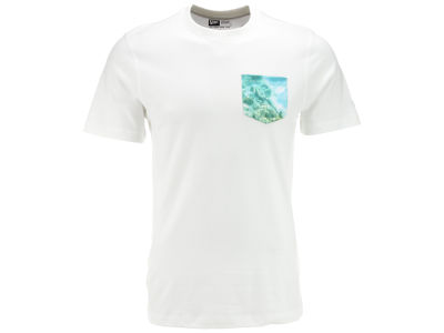 New Era Branded Photo Pocket T-Shirt