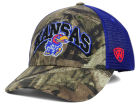 Kansas Jayhawks Top of the World NCAA Trapper Meshback Hat Trucker Hats