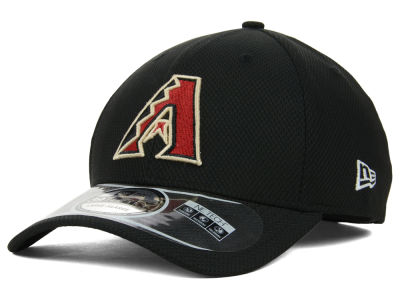 Arizona Diamondbacks MLB Diamond Era Black 39THIRTY Cap Hats