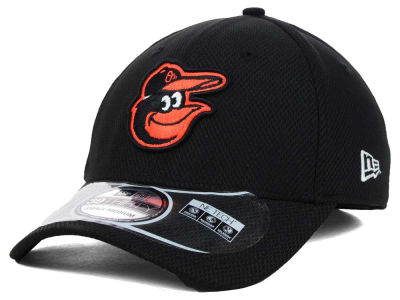 Baltimore Orioles MLB Diamond Era Black 39THIRTY Cap Hats