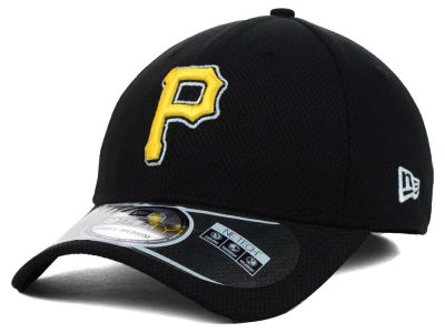 Pittsburgh Pirates MLB Diamond Era Black 39THIRTY Cap Hats