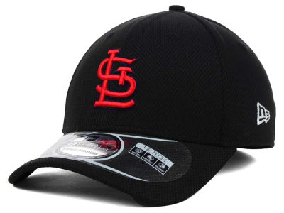 St. Louis Cardinals MLB Diamond Era Black 39THIRTY Cap Hats