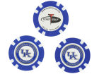 Kentucky Wildcats Team Golf Golf Poker Chip Markers 3 Pack Toys & Games