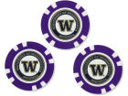 Washington Huskies Team Golf Golf Poker Chip Markers 3 Pack