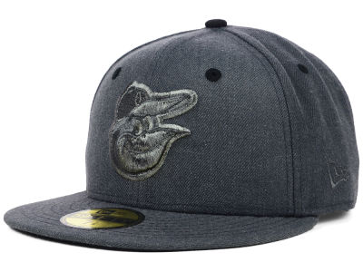 Baltimore Orioles MLB Graphite Heather 59FIFTY Cap Hats