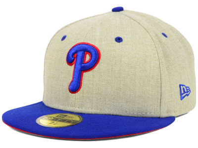 Philadelphia Phillies MLB Team OAT 59FIFTY Cap Hats