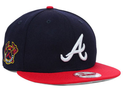 Atlanta Braves MLB 2 Tone Link 9FIFTY Snapback Cap Hats