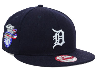 Detroit Tigers MLB 2 Tone Link 9FIFTY Snapback Cap Hats
