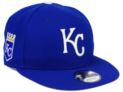 Kansas City Royals MLB 2 Tone Link 9FIFTY Snapback Cap Hats
