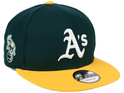 Oakland Athletics MLB 2 Tone Link 9FIFTY Snapback Cap Hats