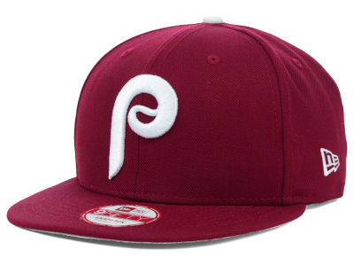Philadelphia Phillies MLB 2 Tone Link Cooperstown 9FIFTY Snapback Cap Hats