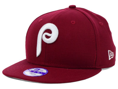 Philadelphia Phillies MLB Youth Major Wool 9FIFTY Snapback Cap Hats