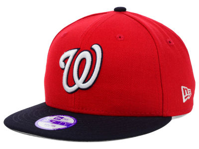 Washington Nationals MLB Youth Major Wool 9FIFTY Snapback Cap Hats