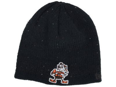 Cleveland Browns NFL Womens Glistener Knit Hats