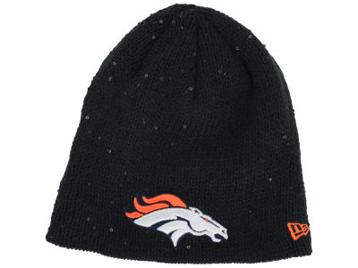 Denver Broncos NFL Womens Glistener Knit Hats
