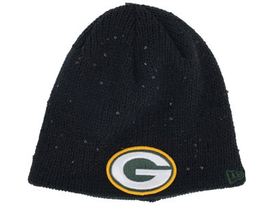 Green Bay Packers NFL Womens Glistener Knit Hats