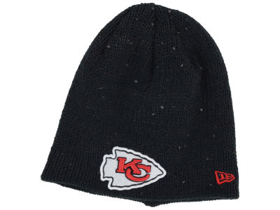 Kansas City Chiefs NFL Womens Glistener Knit Hats