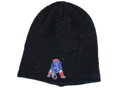 New England Patriots NFL Womens Glistener Knit Hats