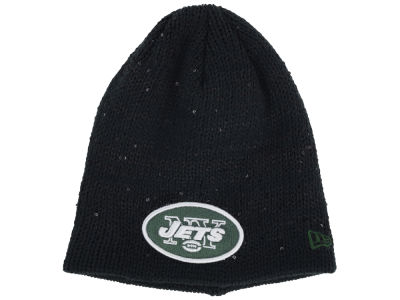 New York Jets NFL Womens Glistener Knit Hats
