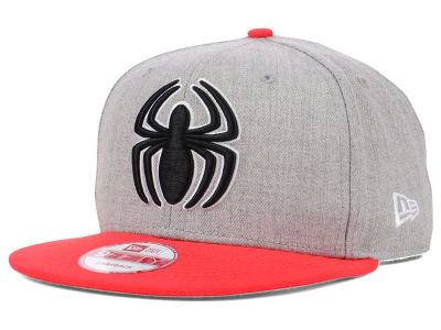 Marvel Spiderman Hero Heather Neon 9FIFTY Snapback Cap Hats
