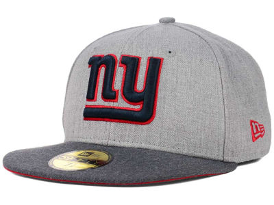 New York Giants NFL Heather 2 Tone 59FIFTY Cap Hats