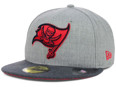 Tampa Bay Buccaneers NFL Heather 2 Tone 59FIFTY Cap Hats
